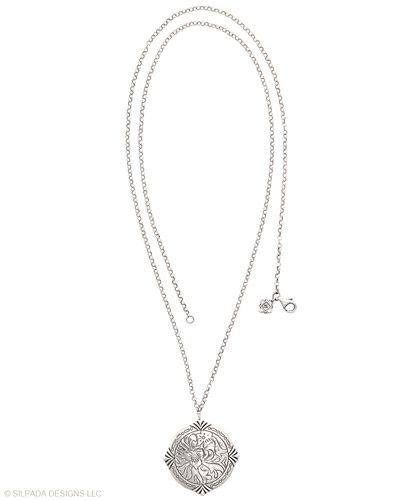 Harness the power of sovereign #style. #Cubic #Zirconia, #Sterling #Silver. #Silpada #Jewelry #Necklace