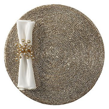 Z Gallerie - Metallic Studded Placemat