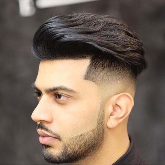 Best Hairstyle For Heart Shaped Face Men Undercut Fade Hairstyle Undercut Hairstyles Haircuts For Men
