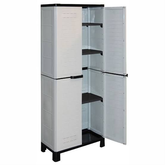 Pin By Inal Chams On Meuble En Plastique Armoire Top Freezer Refrigerator Outdoor Living Diy