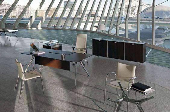 Mesa Arkitek elegante ejemplo de despacho de alta calidad.