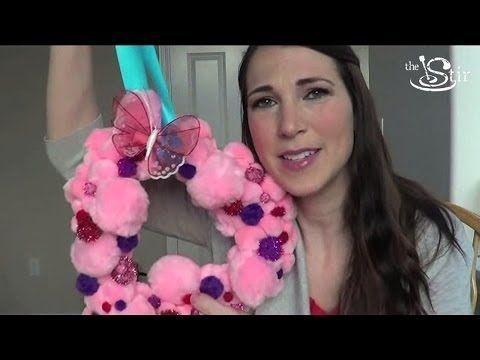 Super Cute Valentine's Day Wreath! - Crafty Mom's Weekly Challenge - Episode 29