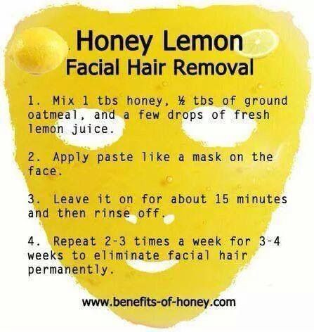 Permanent Facial Hair Removal, use doTERRA Lemon Essential Oil