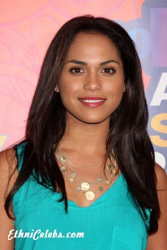 Monica raymund parents