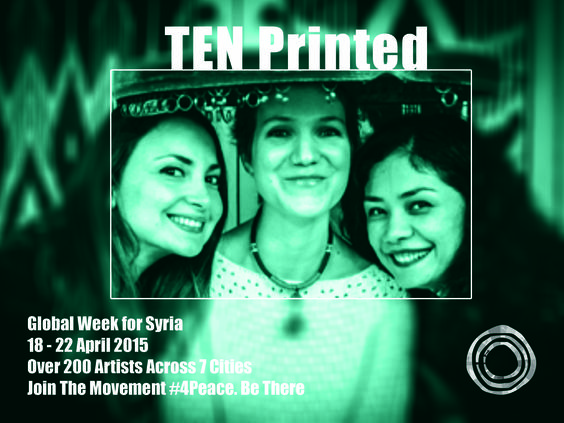 """Ten Printed """"Reaching for the Sacred""""   """"Reaching for the Sacred"""" is a show which blends singing, music and dance around the sacred and the spiritual. Three young women, Mukaddas Mijit from the Xinjiang Uyghur Autonomous Region (China), Lynn Adib from Damascus, Syria, and Sandrine Monlezun from France, met in Paris and formed a friendship built on their curiosity towards the each other's culture and on their own artistic experience."""