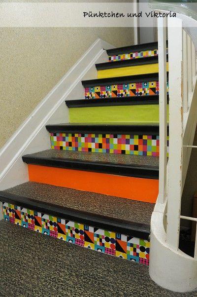 Treppe gestalten