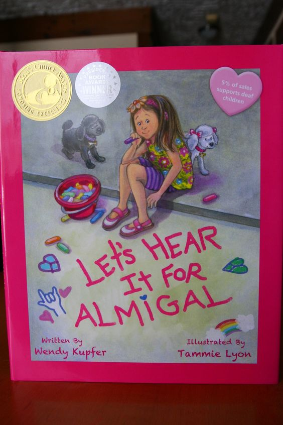 A list of the best books for children with hearing loss: from picture books to novels about children with hearing aids, cochlear implants, and deafness in today's society.