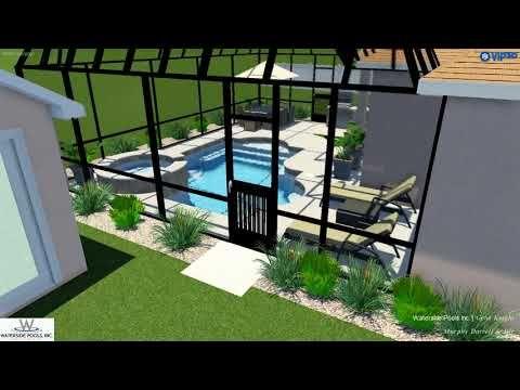 Vip3d 3d Swimming Pool Design Software Youtube Pool Designs