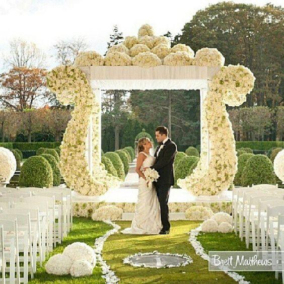 Wedding Ceremony Decoration Ideas: Garden Weddings, Wedding And Gardens On Pinterest