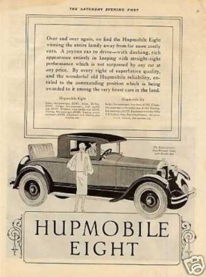 Hupmobile Eight Two-passenger Coupe (1926)