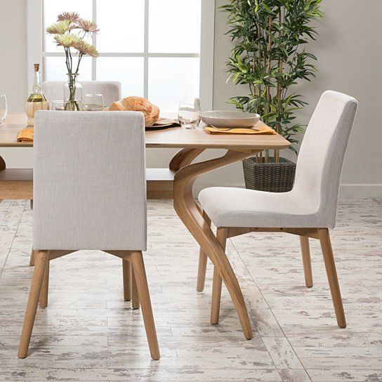 Katherine Upholstered Dining Chairs Set Of 2 Oak Dining Chairs