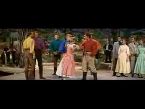 One of my fav scenes from a favourite movie (Seven Brides for Seven Brothers) ....redone to The Rodeo Song! LOL