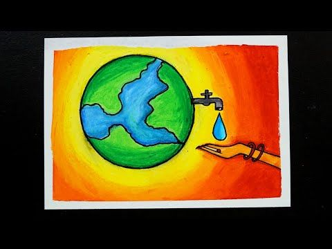 Save Water Poster Drawing Easy Save Water Save Earth Oil Pastel Drawing Oil Pastel Painting Save Water Poster Drawing Poster Drawing Oil Pastel Paintings