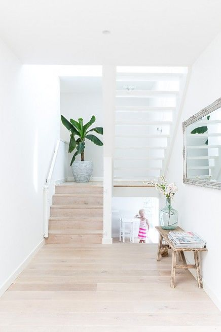 escaliers clairs ambiance scandinave light staircase scandinavian style buro binnenhuis. Black Bedroom Furniture Sets. Home Design Ideas