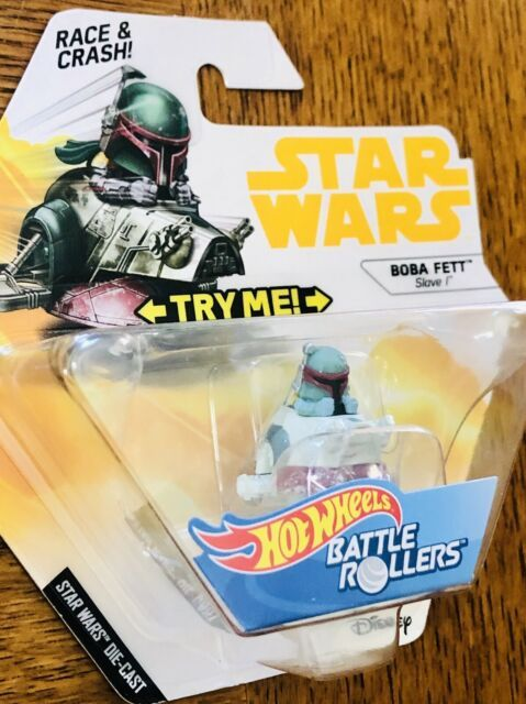 Star Wars Battle Rollers Boba Fett Slave I
