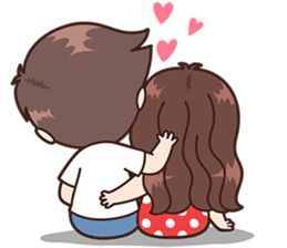 This Love For You Send Your Love To Your Couple It S So Cute Cute Love Cartoons Cute Chibi Couple Cartoons Love