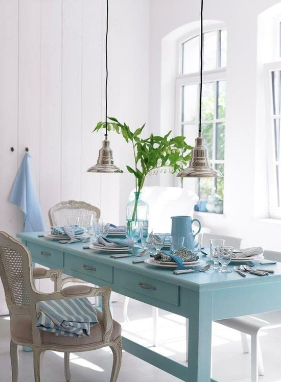 i ve got the monday blues dining area a girl thing bright rh pinterest com