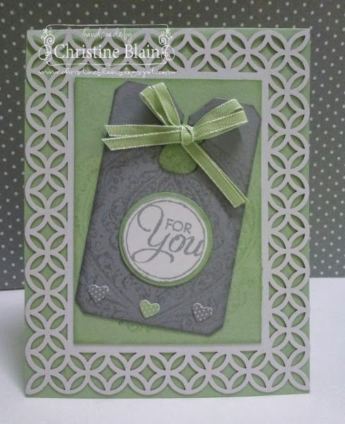 STAMPIN' UP!'S SIMPLY FABULOUS CARD 7