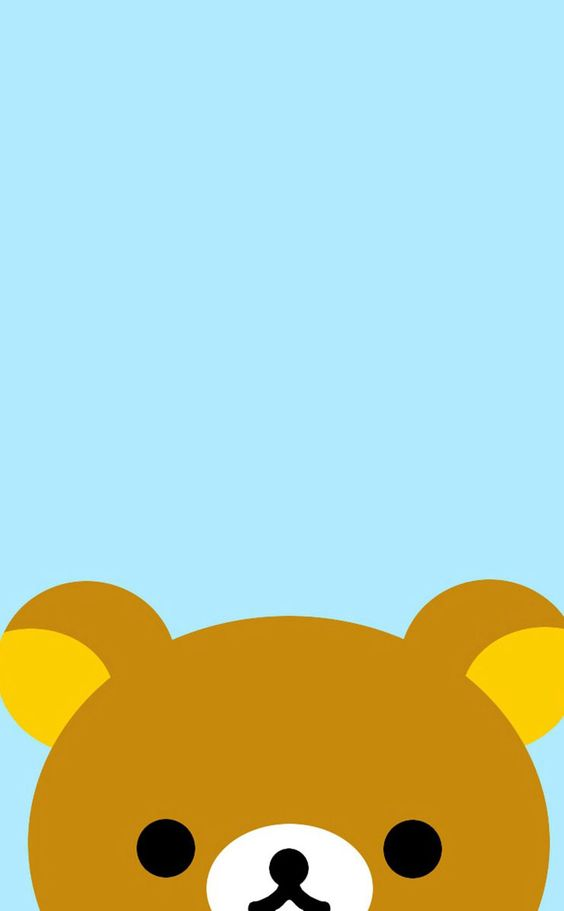 This is a cute wallpaper for your phone teddy bear http