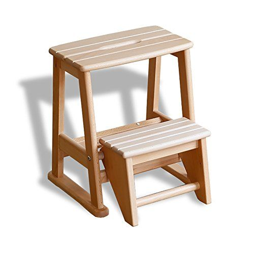 Ladder Stool Step Stool Solid Wood Stool Furniture 2 Step Wooden Bench Folding Step Children S Chairs Multifunction 3 Step Stool Step Stool Decor Floor Chair