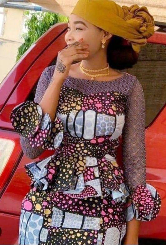 Ensemble en pagne | African maxi dresses,