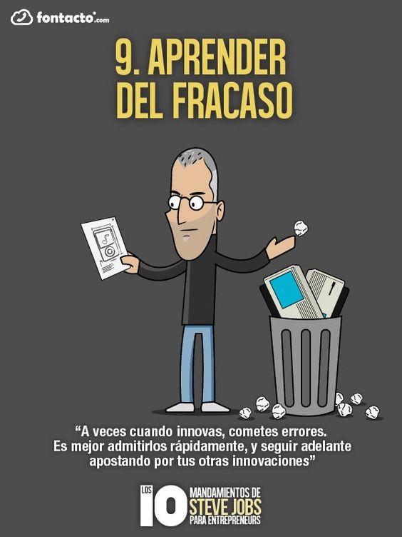 Mandamientos de Steve Jobs para emprendedores