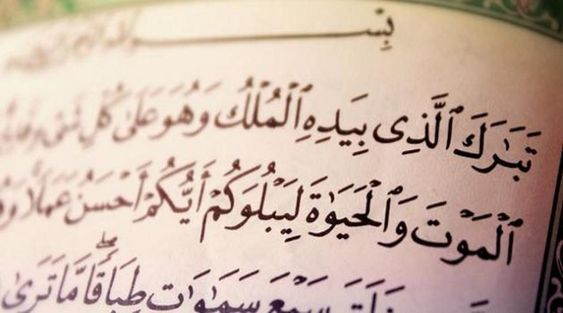 سورة تبارك سورة الملك كاملة مكتوبة Arabic Calligraphy Blog Blog Posts
