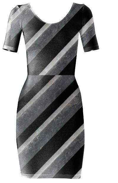 Sexy as Steel bodycon dress from PAOM
