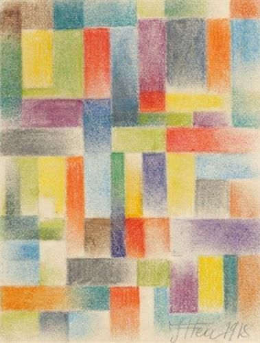 Untitled by Johannes Itten, 1918