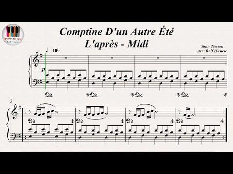 Comptine D Un Autre été Guitar Tutorial Yann Tiersen La Valse D Amelie Link To Download For Free The