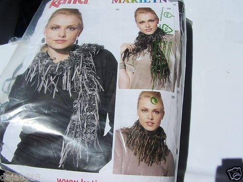 Katia Marilyn Ladder Fringe Yarn New Yarn Colors 5 Available | eBay
