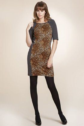 Limited Collection Leopard Dress { Love this, but wonder if it would look a bit tacky irl}