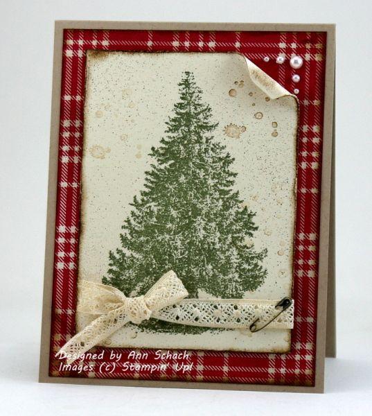 Christmas Lodge Tree