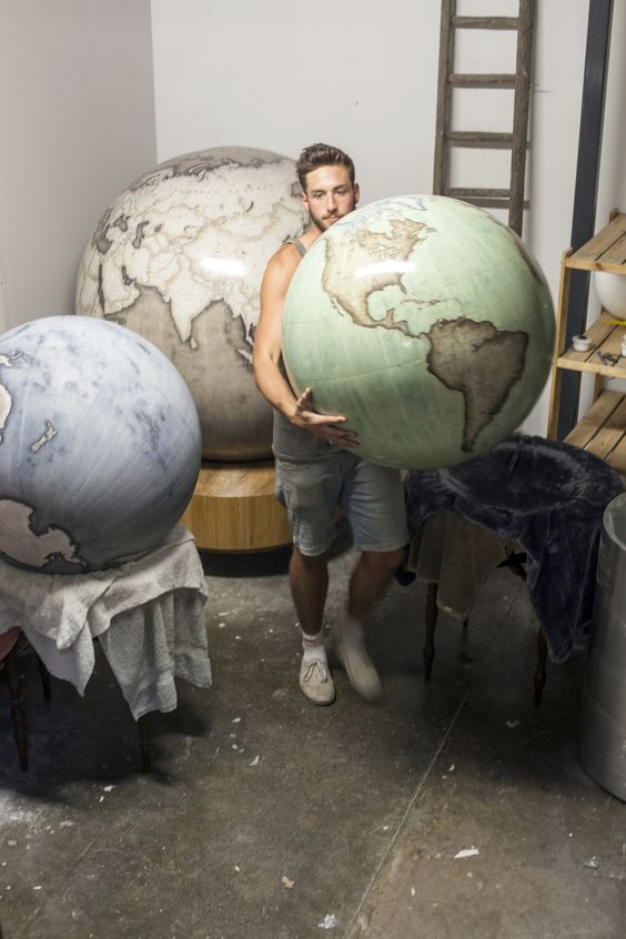 Bellerby and Co. Globemakers, Hackney, London, UK ©Stuart Freedman