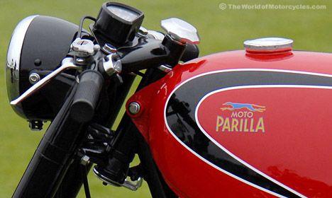 Vintage Moto Parilla Motorcycles
