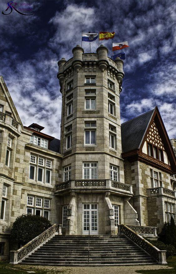 Palacio de la Magdalena #Santander  #Cantabria #Spain
