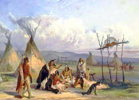 What Are Three Natural Resources That The Sioux Tribe Use
