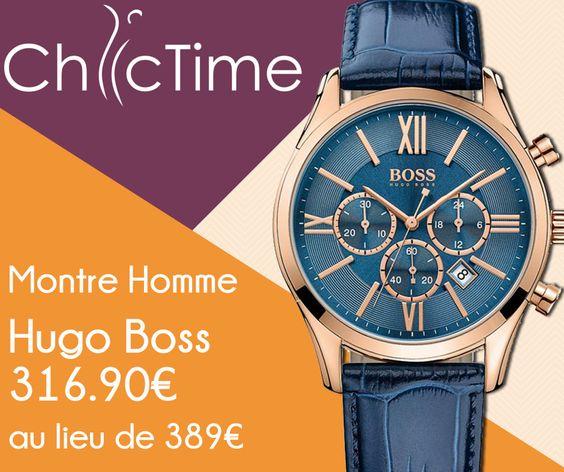 La montre Hugo Boss 1513320 pour homme est en promotion à -19% sur Chic Time. Obtenez-la pour 316,90€ au lieu de 389€ ! Avec cette montre, votre poignet ne manquera pas de style et d'éclats.  >>> http://www.chic-time.com/montres-homme/84091-montre-homme-hugo-boss-1513320-7613272200394.html