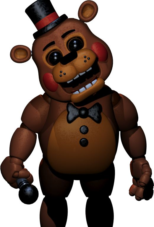 Freddy s at five nights coloring pages character information