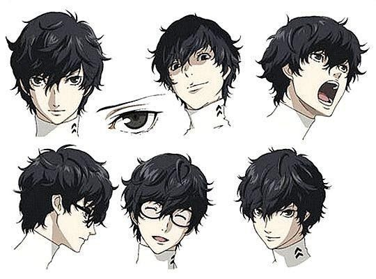 See More Ideas On Anime Hairstyles In Hair And Real Life Anime It S A See More Ideas On Anime Hairstyles In Ha In 2020 Persona 5 Anime Hair Anime Hairstyles Male