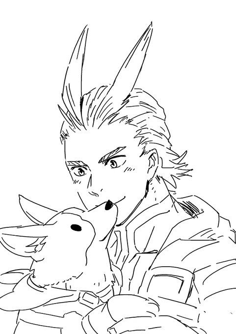 By Shibakonoki On Twitter My Hero Hero Coloring Pages