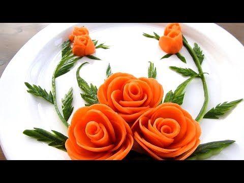 Super Salad Decoration Ideas Arts On Vegetable Plate Decoration Youtube Salad Decoration Ideas Vegetable Plate Vegetable Carving