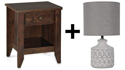 0a8d22f1fde10cd4a261f9dcf3a3ccce - Better Homes & Gardens Leighton Night Stand Rustic Cherry Finish
