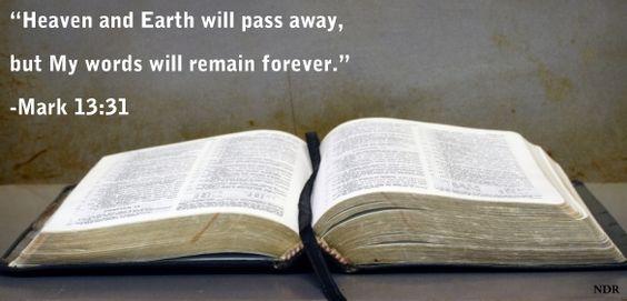 Mark 13:31