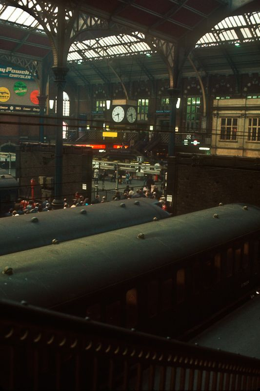 Liverpool Street Station, September 1972