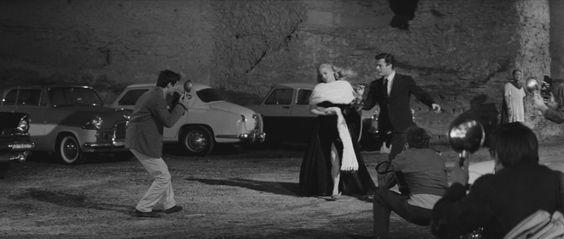 La dolce vita  Federico Fellini. 1960  Club  Terme di Caracalla, Viale delle Terme di Caracalla, Rome, Italy  See in map  See in imdb