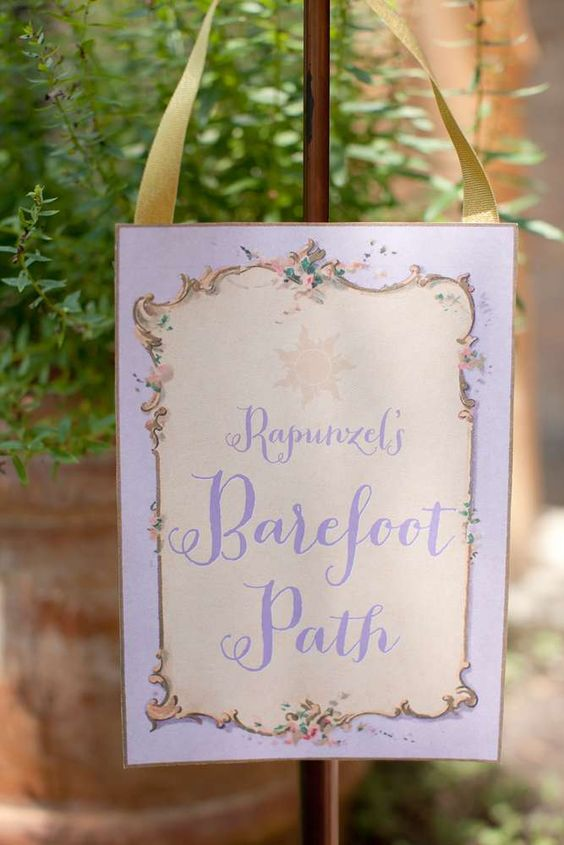 Rapunzel/ Tangled/ Princess Birthday Party Ideas | Photo 1 of 51