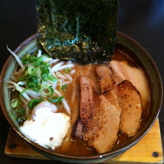 《麺彩ぎんや 小牧店》 海老味噌スープ。うまい!