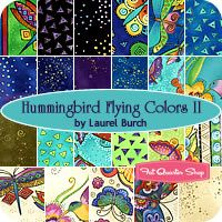Hummingbird Flying Colors Fat Qtr Bundle