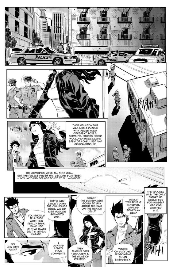 1 #koa #kingdomofassassins #manga #comic #thriller #itsamangaandacomic #CIA #NYPD #SpecialForces #Middleeast #War #IRAN #SaudiArabia